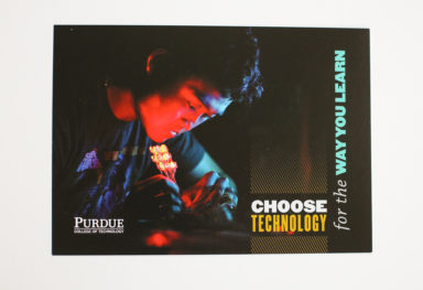 """Choose Technology"" postcard series"